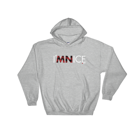 Image of I'MNICE Hooded Sweatshirt