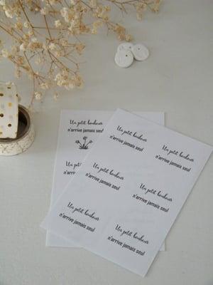 """Image of Etiquette autocollante """"Un petit Bonheur ..."""" (ETK1PB)"""