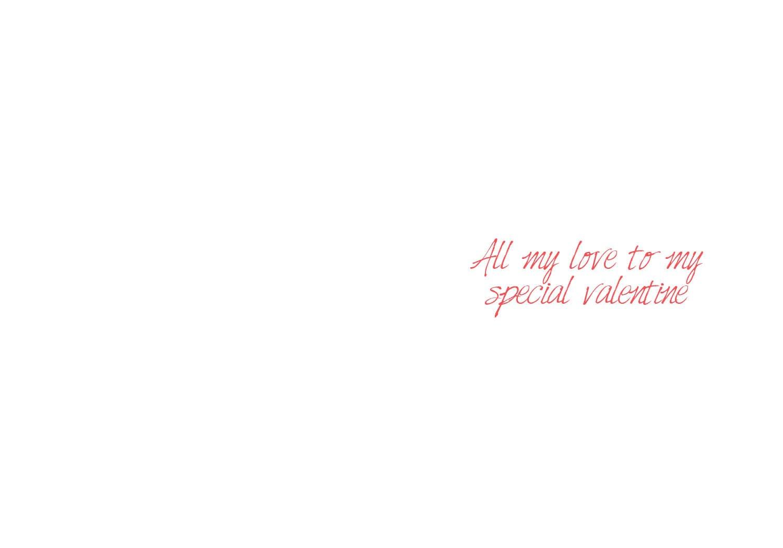 Image of Happy Valentine's Day - My love