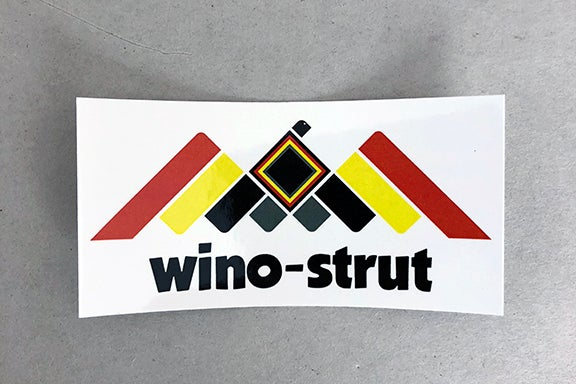 "Image of wino-strut ""Contemporary Phoenix"" Sticker"