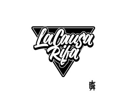 Image of LA CAUSA RIFA PLACA/STICKER