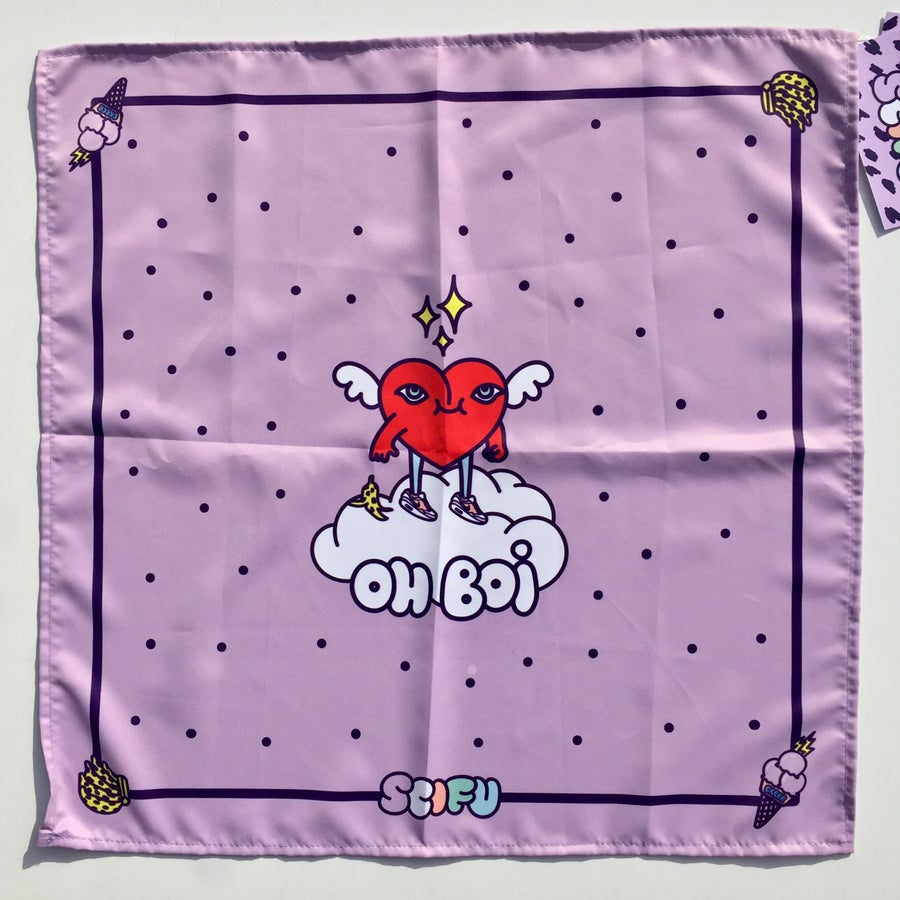 Image of OH BOI bandana by SCIFU