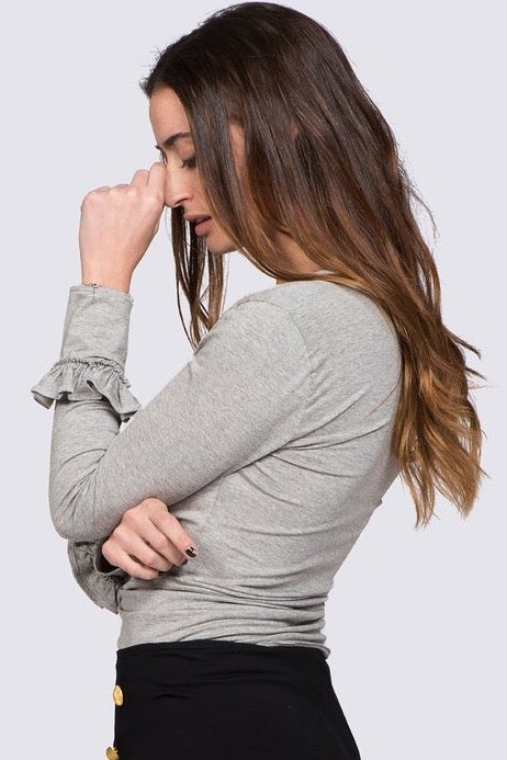 Image of Camiseta Virginia Gris