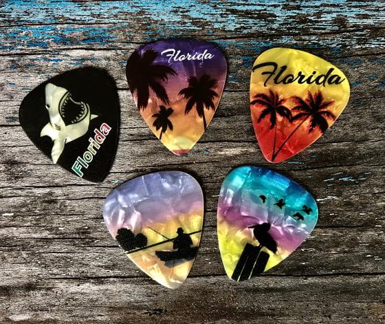 Image of Guitar Souvenir Picks