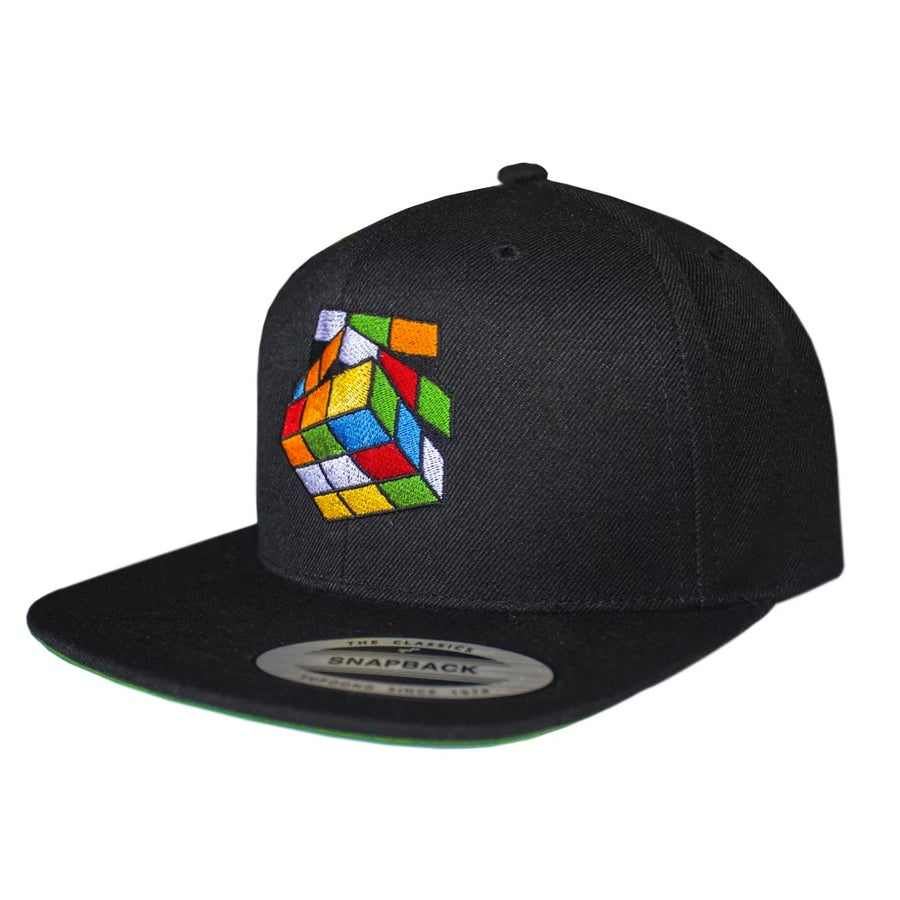 Image of Black Rubik's Snapback