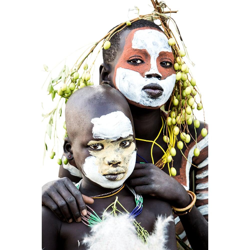Image of PHOTOGRAPH - ZANE & LOLA - YOUNG SURI CHILDREN