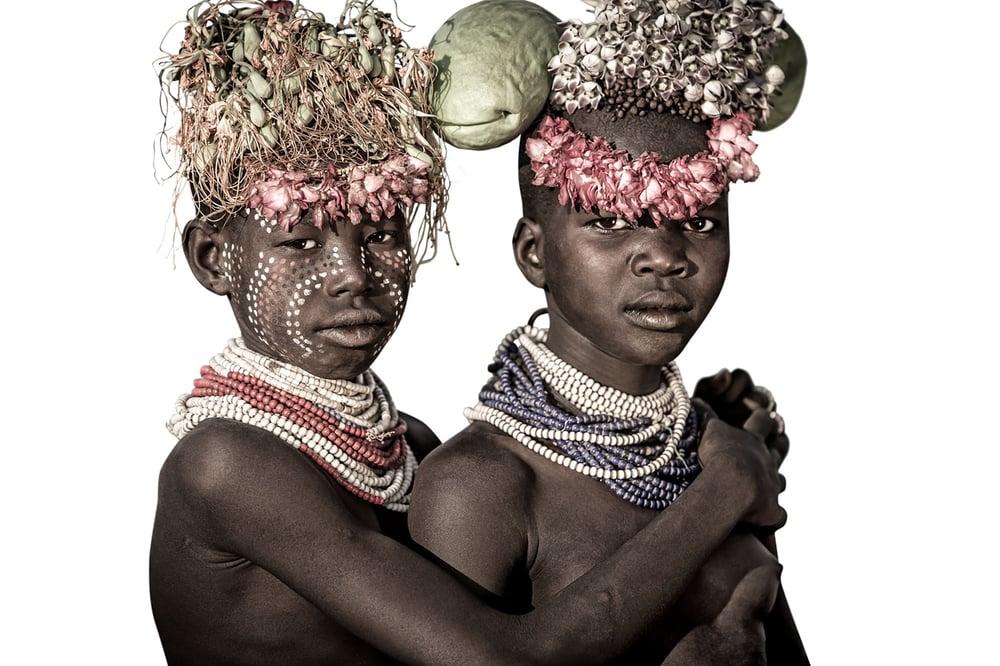 Image of CANVAS - RAPHAEL & KANYE - Young Suri boys