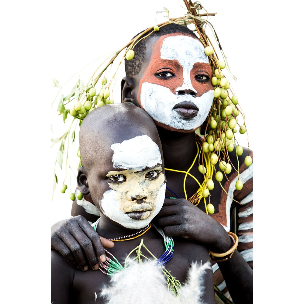 Image of CANVAS - ZANE & LOLA - Young Suri Children