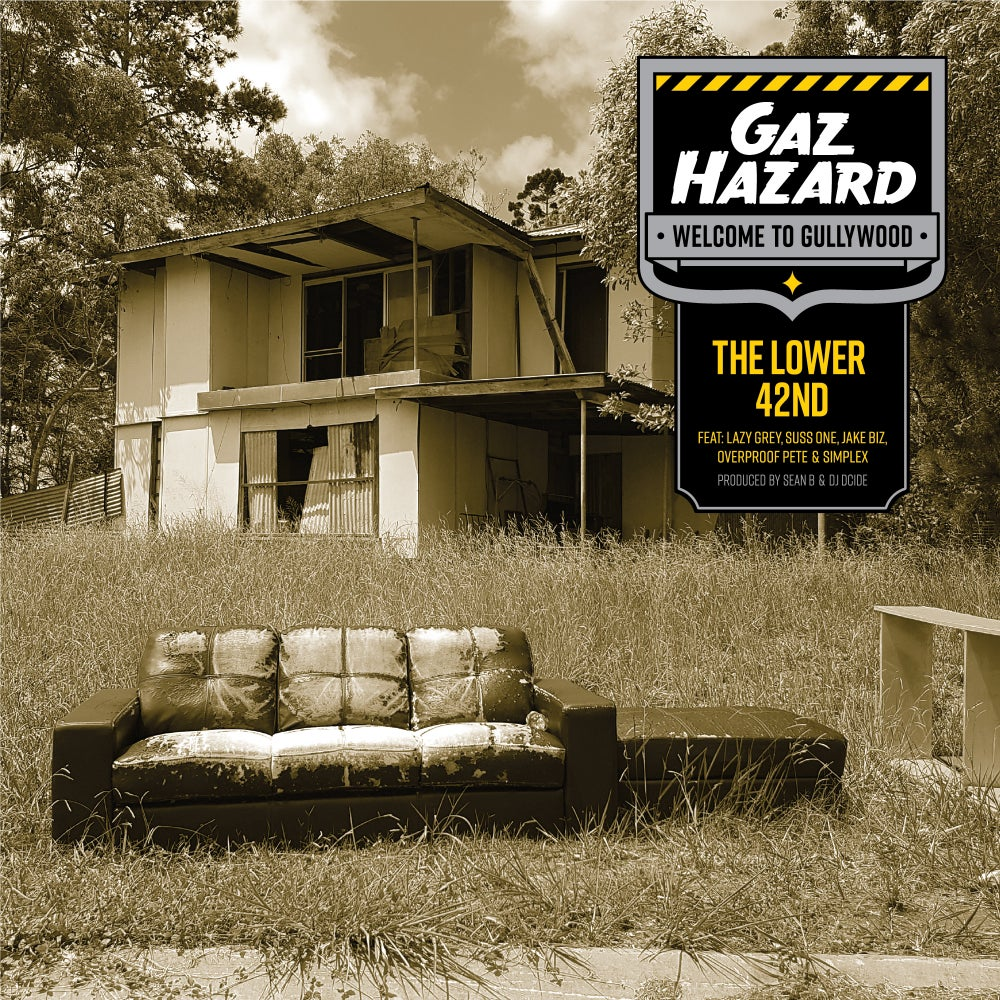 Image of GAZ HAZARD - THE LOWER 42ND 7inch