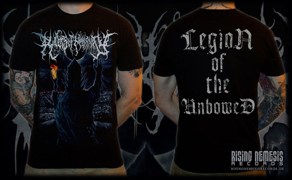 Image of RELICS OF HUMANITY - Legion Of The Unbowed T-Shirt