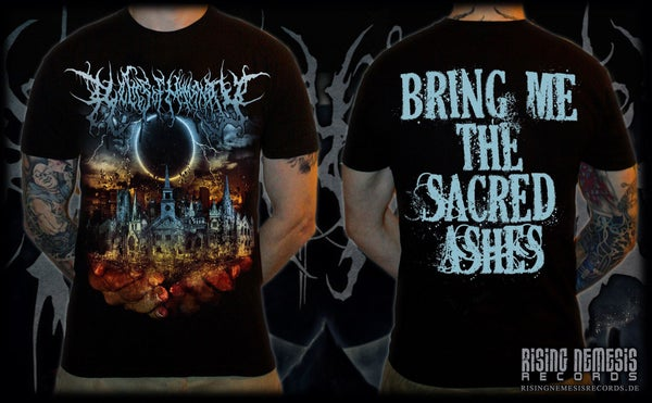 Image of RELICS OF HUMANITY - Bring Me The Sacred Ashed T-Shirt [pre-order]