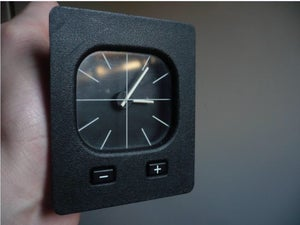 Image of E30 euro clocks