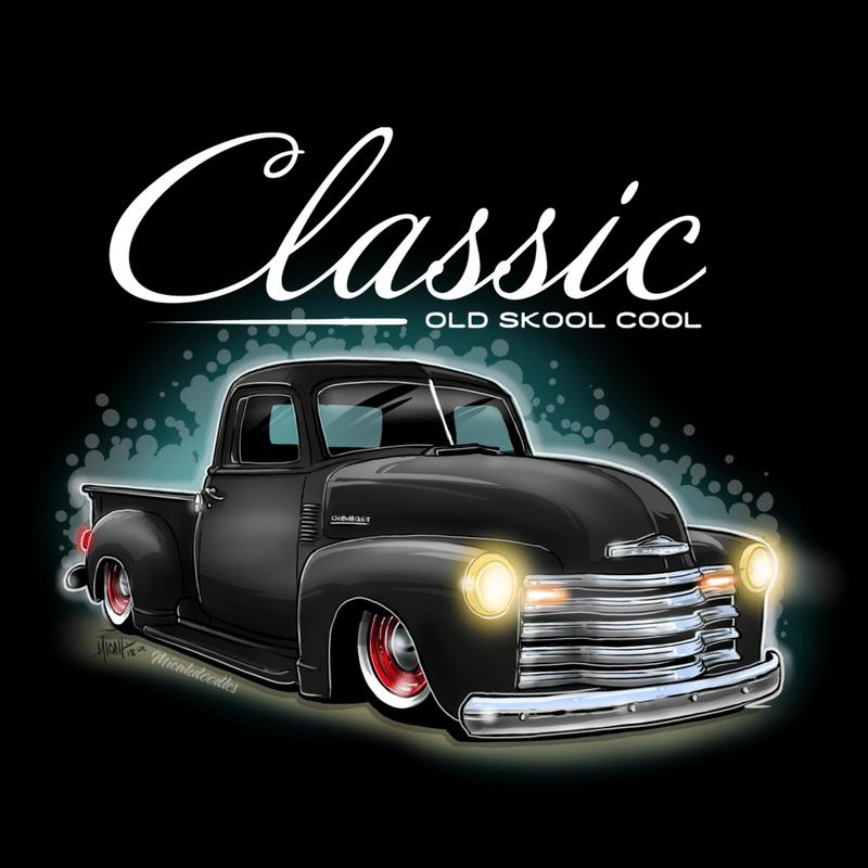 Image of Classic Ol Skool First Series Black