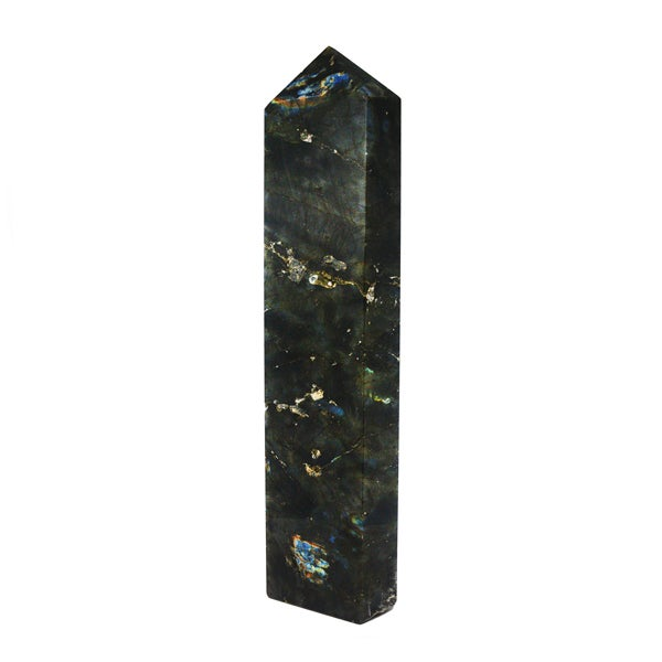 Image of Huge labradorite obelisk