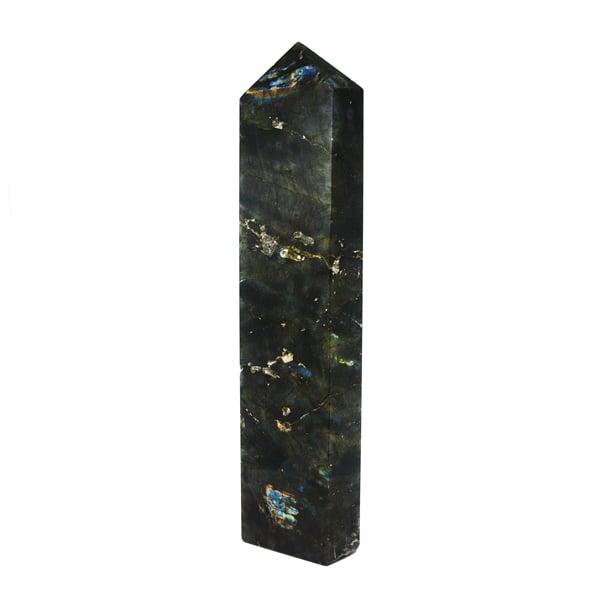 Image of Huge labradorite obelisk