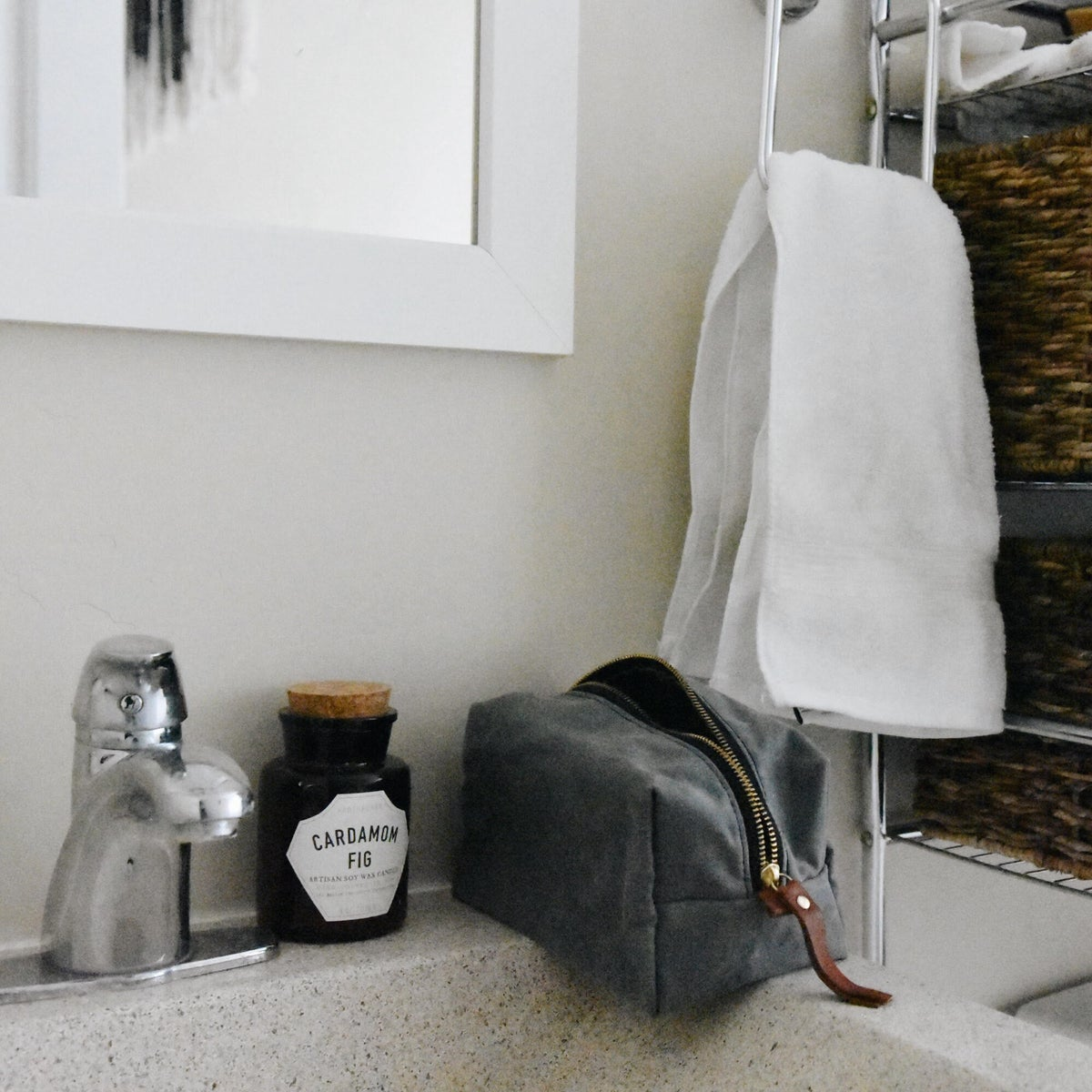 Image of Charcoal Dopp Kit