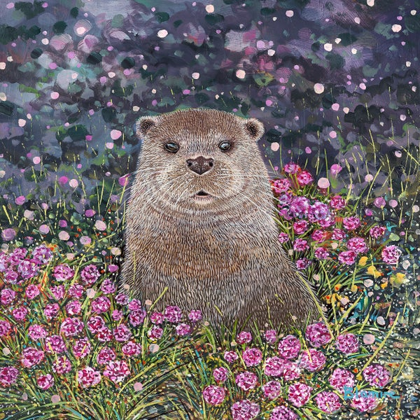 Image of Islay otter SMALL print