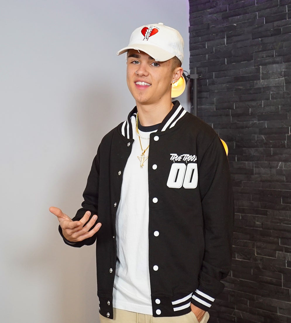 Image of Jake Mitchell TOUR VARSITY JACKET! (LIMITED STOCK)