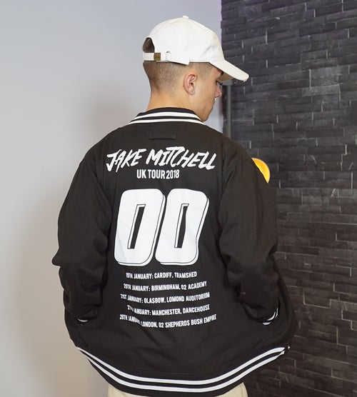 Image of Jake Mitchell VARSITY JACKET! (LIMITED STOCK)
