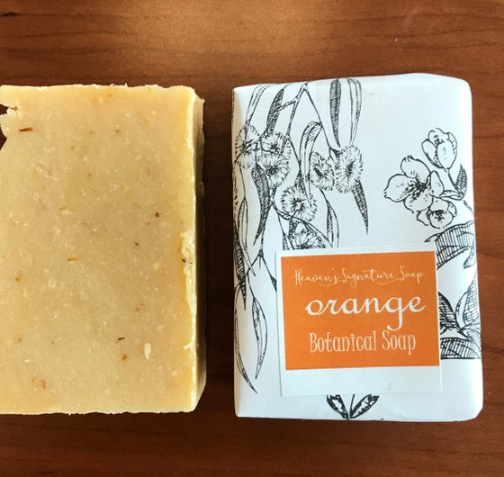 Image of Orange Calendula Soap