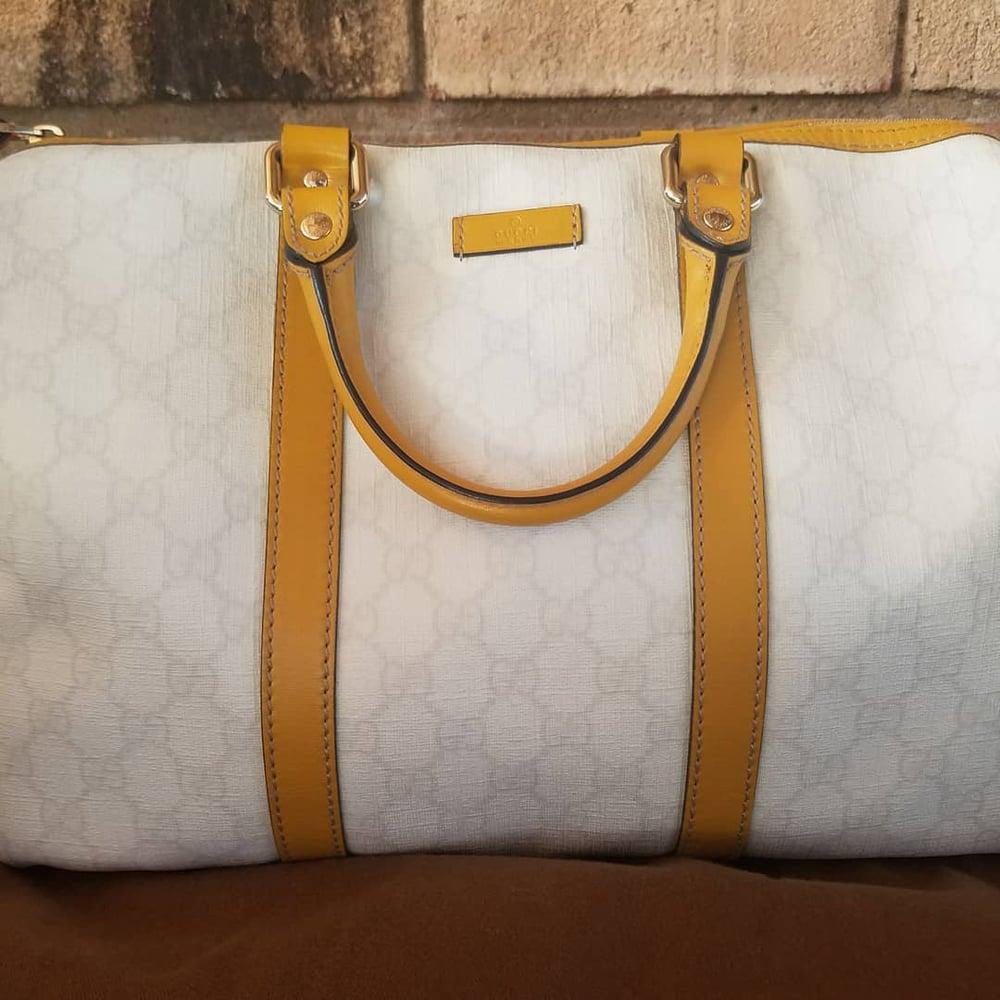 Image of Gucci Joy Medium Boston Bag