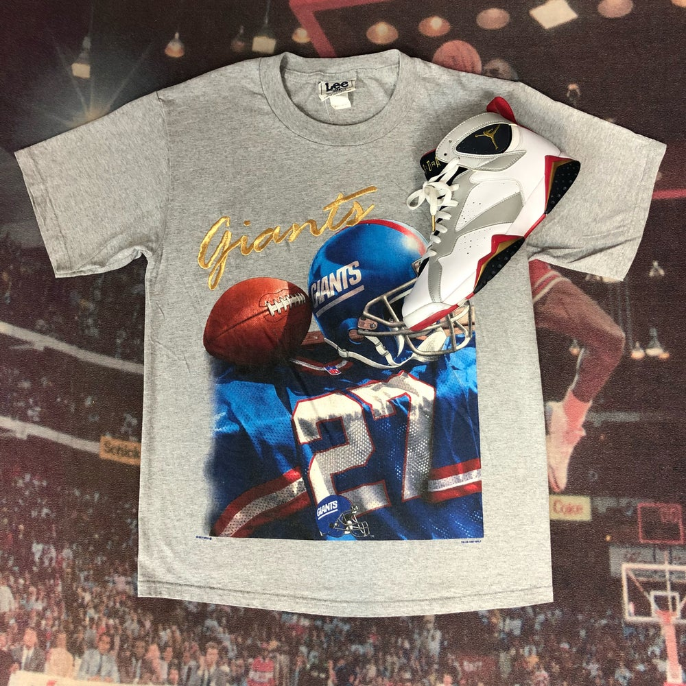Image of Vintage Lee Sport x New York Giants Tee Size Medium