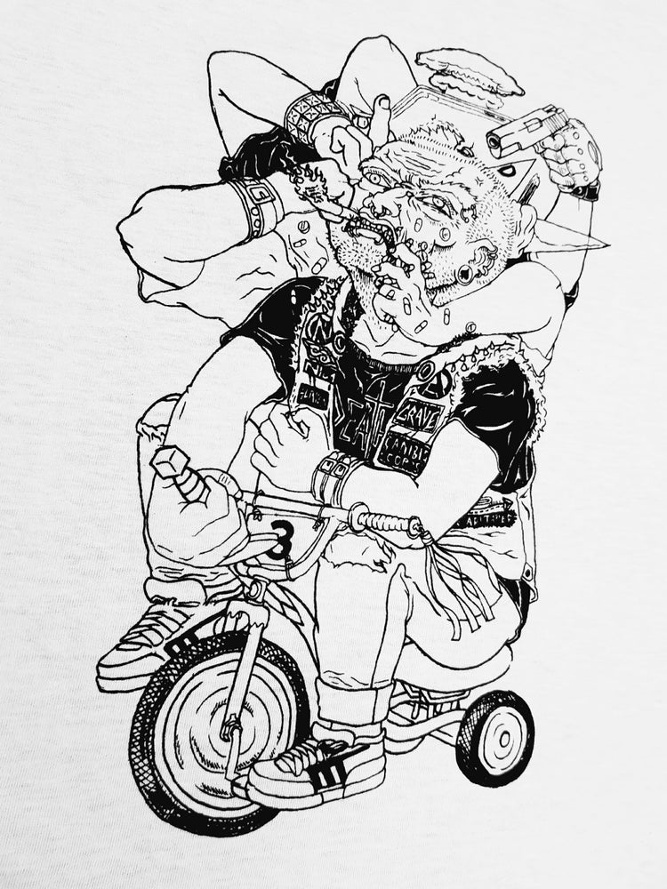 Image of PEDAL PUSHER TEE