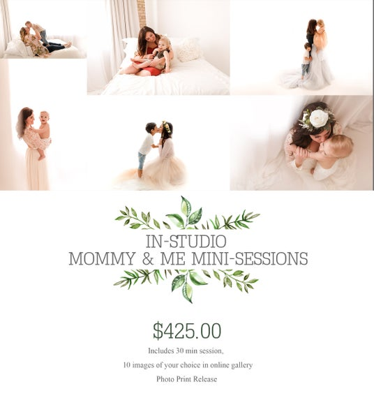 Image of Mommy and Me Mini-Session {retainer} Friday June 1st & Saturday, June 2nd - 2018