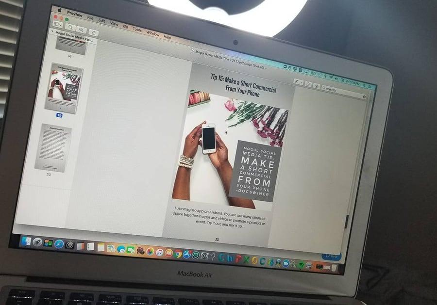 Image of Mogul Moves webinar