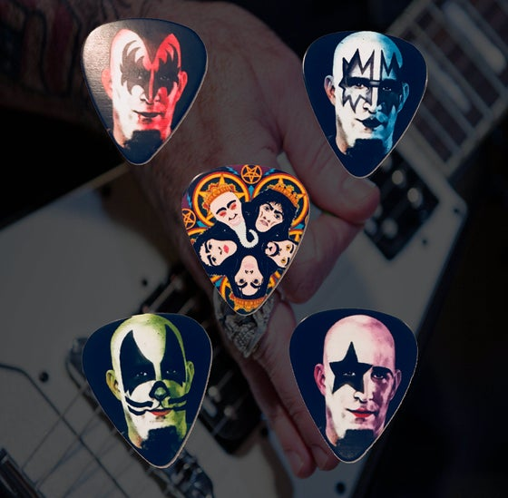 Image of Scott Ian 'Masked' Tour Pick Set