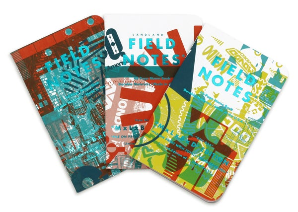 "Image of Field Notes ""MxLxBxD"" Edition Memo Books (3-pack)"