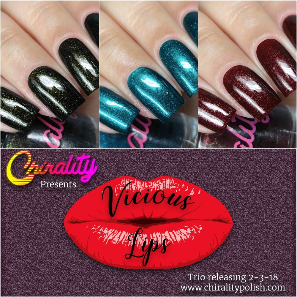 Image of Vicious Lips Collection - Mini Size