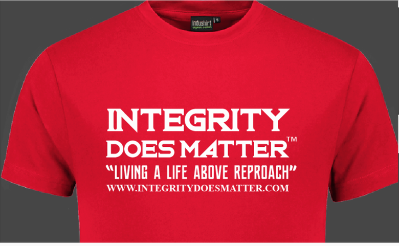 Image of Integrity Does Matter ™ Original T-Shirt