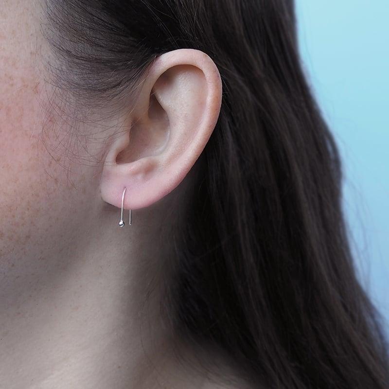 Image of Mini Arc Earrings