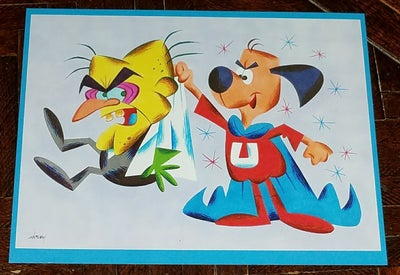Image of UNDERDOG and SIMON BAR SINISTER 8.5x11 PRINT