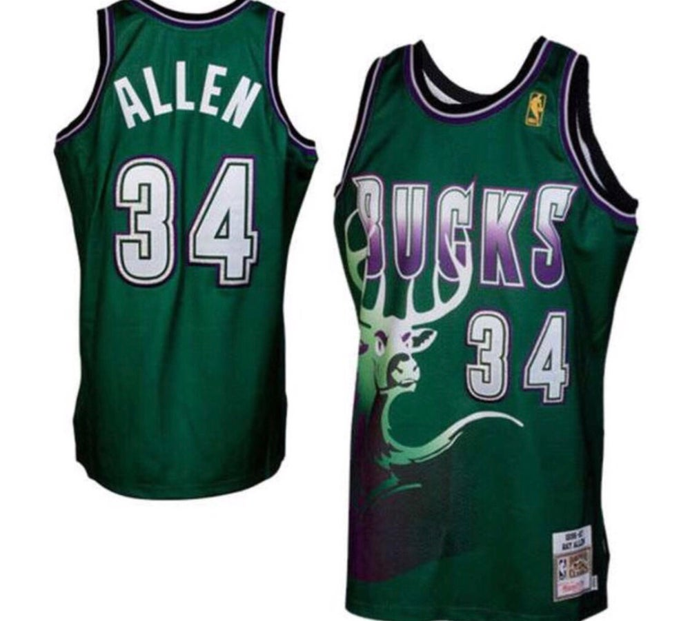 Image of Milwaukee Bucks Ray Allen #34