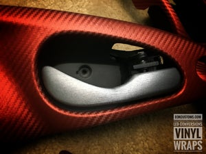 Image of 2000-2007 Ford Focus • Brushed Aluminum Latch Handles