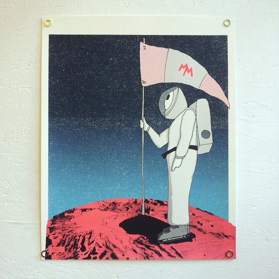 Image of MAN ON MARS (ART PRINT)