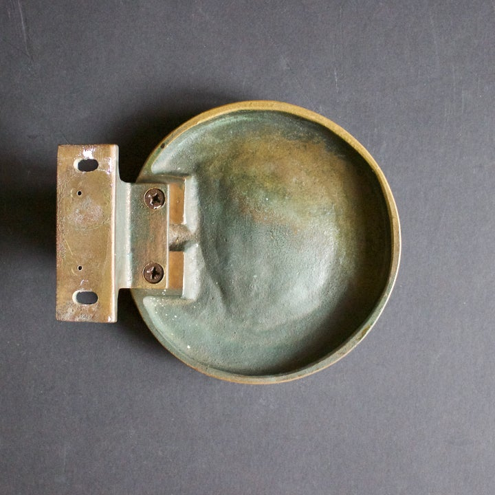 Image of Circular Bronze Door Handle 1960s