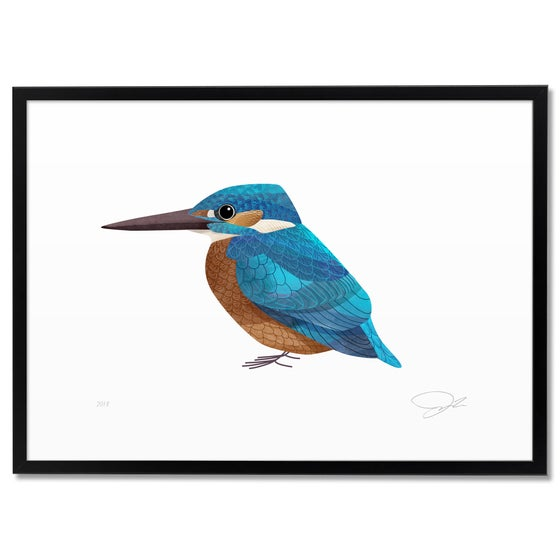 Image of Print: Kingfisher