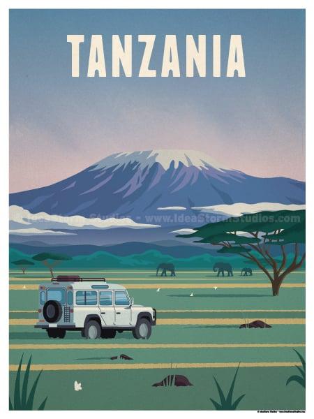 Image of Tanzania Poster