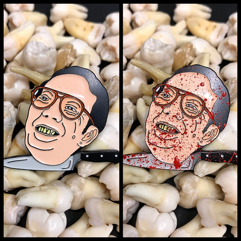 Image of Killer Issei Sagawa Soft Enamel Pin