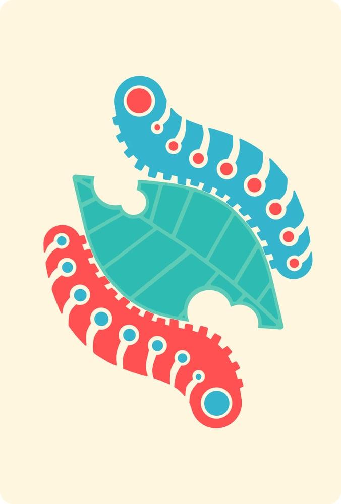 Image of caterpillars