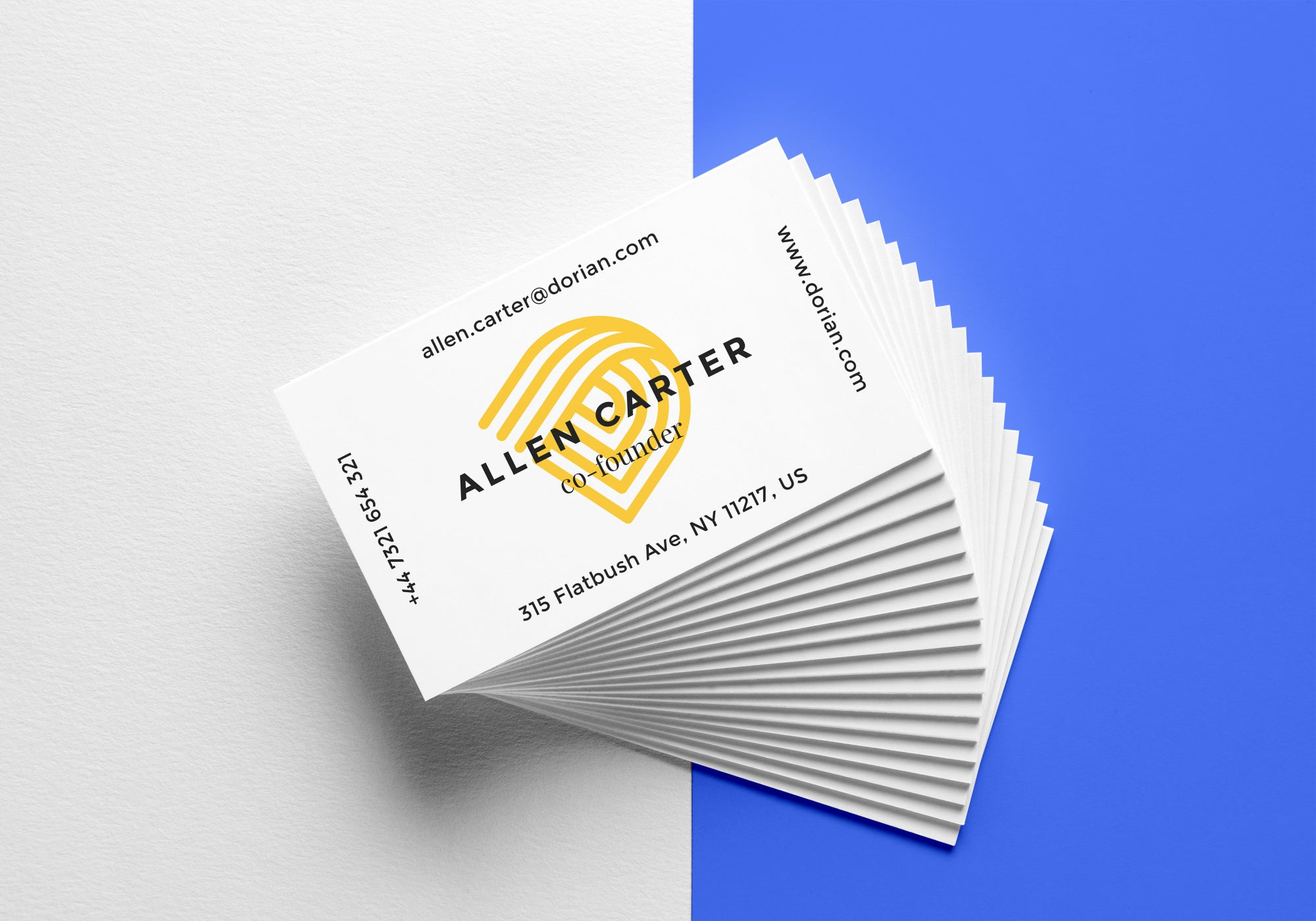 Business Cards | MATT LAMINATED | GLOSS LAMINATED | SOFT TOUCH ...
