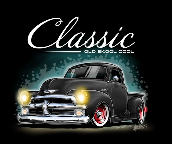 Image of Classic 54 pickup Black