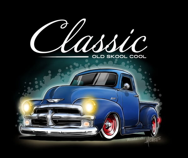 Image of Classic 54 Pickup Blue