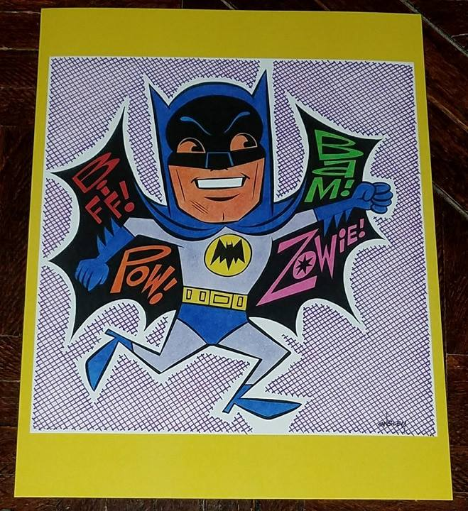 Image of BATMAN and ROBIN 2-PIECE (8.5x11 each) SKETCHBOOK PRINT SET