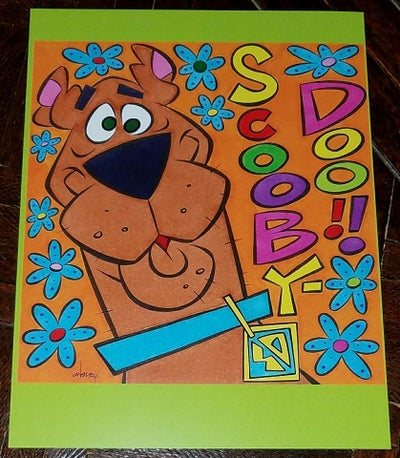 Image of SCOOBY-DOO 8.5x11 SKETCHBOOK PRINT