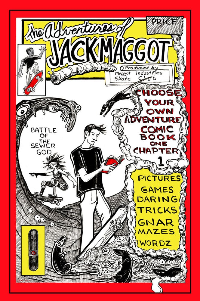 Image of The Adventures of Jack Maggot Book 1 Chapter 1