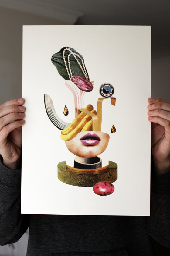 Image of BALANCE - Screenprint poster / Collage